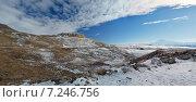 Купить «Республика Карачаево-Черкесия, п. Учкекен, Рим-гора», фото № 7246756, снято 2 января 2015 г. (c) Карданов Олег / Фотобанк Лори