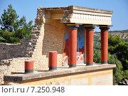 Купить «Кносский дворец на острове Крит, Греция», эксклюзивное фото № 7250948, снято 17 июня 2014 г. (c) Артём Крылов / Фотобанк Лори