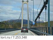 Мост в Норвегии (2015 год). Редакционное фото, фотограф Юлия Романова / Фотобанк Лори