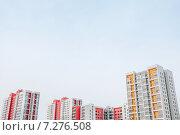 Купить «Новостройка», фото № 7276508, снято 22 марта 2015 г. (c) Захар Гончаров / Фотобанк Лори