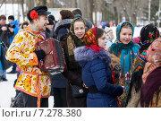 Купить «Масленица, народные гулянья», фото № 7278380, снято 20 июня 2019 г. (c) Igor Lijashkov / Фотобанк Лори