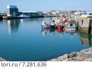 Купить «Порт Хоут, Дублин, Ирландия», фото № 7281636, снято 21 сентября 2014 г. (c) Татьяна Кахилл / Фотобанк Лори