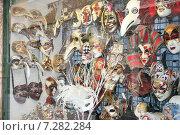 Купить «Витрина с Венецианскими масками,в городе Венеция», фото № 7282284, снято 31 марта 2007 г. (c) Робул Дмитрий / Фотобанк Лори