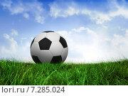 Купить «Composite image of football», фото № 7285024, снято 25 июня 2019 г. (c) Wavebreak Media / Фотобанк Лори