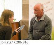 Леонид Якубович (2015 год). Редакционное фото, фотограф Евгения Кирильченко / Фотобанк Лори
