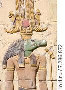 Каменные египетские барельефы (2015 год). Стоковое фото, фотограф Oleksii Pyltsyn / Фотобанк Лори