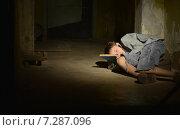 little boy sleeping. Стоковое фото, фотограф Ruslan Huzau / Фотобанк Лори