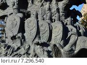 Купить «Фрагмент скульптуры «Дерево сказок» на старой территории Московского зоопарка», эксклюзивное фото № 7296540, снято 27 марта 2015 г. (c) lana1501 / Фотобанк Лори