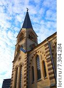 Католическая церковь. Стоковое фото, фотограф Алена Перфилова / Фотобанк Лори