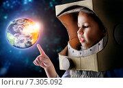 Купить «Astronaut», фото № 7305092, снято 30 марта 2015 г. (c) Константин Юганов / Фотобанк Лори