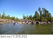 Купить «Летний вид на озеро Телецкое», фото № 7315312, снято 4 августа 2014 г. (c) Александр Карпенко / Фотобанк Лори
