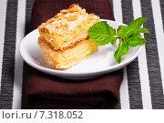 Купить «Napoleon cake», фото № 7318052, снято 9 марта 2011 г. (c) Goinyk Volodymyr / Фотобанк Лори