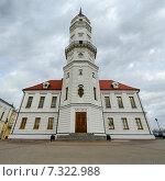 Купить «Городская ратуша, Могилёв, Беларусь», фото № 7322988, снято 23 апреля 2015 г. (c) Ольга Коцюба / Фотобанк Лори