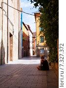 Купить «Old street of Logrono. La Rioja», фото № 7327372, снято 27 июня 2014 г. (c) Яков Филимонов / Фотобанк Лори