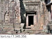 Cambodia, Siem Reap, Angkor, Preah Khan Temple. Стоковое фото, агентство BE&W Photo / Фотобанк Лори