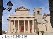 Купить «Basilica del Santo and San Franceso church, San Marino, Adriatic coast, Europe», фото № 7346316, снято 19 апреля 2019 г. (c) BE&W Photo / Фотобанк Лори
