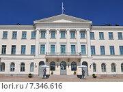 Купить «Presidential Palace of Finland, Helsinki», фото № 7346616, снято 22 августа 2019 г. (c) BE&W Photo / Фотобанк Лори