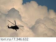 Купить «Poland International Air Show in Goraszka Poland, Goraszka, air show, plane, helicopter, chopper, sky, clouds CWO_058Helicopter in flight», фото № 7346632, снято 18 августа 2018 г. (c) BE&W Photo / Фотобанк Лори
