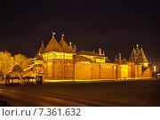 Купить «Деревянный дворец царя Алексея Михайловича в Коломенском (реконструкция), Москва», фото № 7361632, снято 2 мая 2015 г. (c) Victoria Demidova / Фотобанк Лори