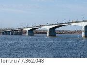 Камский мост (2015 год). Стоковое фото, фотограф Елена Корепанова / Фотобанк Лори