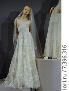 NEW YORK, NY - APRIL 20: Bridal dresses on the mannequins is seen at A Toast To Tony Ward: A Special Bridal Collection at Kleinfeld on April 20, 2015 in NYC. Редакционное фото, фотограф Anton Oparin / Фотобанк Лори