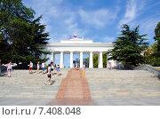 Графская пристань, вид с моря. Севастополь (2014 год). Редакционное фото, фотограф Ирина Балина / Фотобанк Лори
