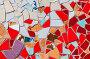 Абстрактный разноцветный мозаичный фон, фото № 7411900, снято 11 мая 2015 г. (c) FotograFF / Фотобанк Лори