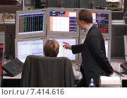 Купить «Haendlersaal Commerzbank in Frankfurt / Main», фото № 7414616, снято 2 декабря 2004 г. (c) Caro Photoagency / Фотобанк Лори