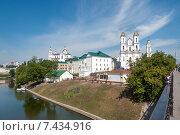 Панорама центральной исторической части Витебска, Беларусь (2011 год). Стоковое фото, фотограф Наталия Елсукова / Фотобанк Лори