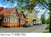 Купить «Виды города Городца», фото № 7438152, снято 14 мая 2015 г. (c) hommik / Фотобанк Лори