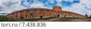 Купить «Смоленск. Панорамный вид крепостной стены», эксклюзивное фото № 7438836, снято 3 мая 2015 г. (c) Литвяк Игорь / Фотобанк Лори