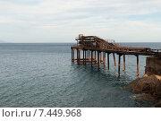 Купить «Rio Marina, Italy, old Erzverladestation in Rio Marina on Elba Island», фото № 7449968, снято 9 августа 2011 г. (c) Caro Photoagency / Фотобанк Лори