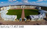 Купить «Екатерининский дворец в Царском селе снятый с квадрокоптера, Пушкин, Санкт-Петербург», фото № 7457848, снято 19 января 2020 г. (c) Андрей Родионов / Фотобанк Лори