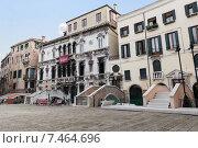 Купить «Площадь Малипиеро. Венеция. Италия», фото № 7464696, снято 4 ноября 2013 г. (c) Евгений Ткачёв / Фотобанк Лори