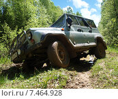 Купить «УАЗ и бездорожье», фото № 7464928, снято 6 июня 2009 г. (c) Евгений Ткачёв / Фотобанк Лори