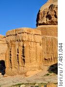 Купить «Петра. Джинн-блоки. Иордания», фото № 7481044, снято 2 апреля 2015 г. (c) Знаменский Олег / Фотобанк Лори
