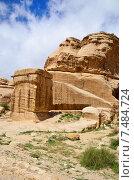 Купить «Петра. Джинн-блоки. Иордания», фото № 7484724, снято 1 апреля 2015 г. (c) Знаменский Олег / Фотобанк Лори