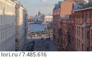 Васильевский остров, Санкт-Петербург, таймлапс (2015 год). Стоковое видео, видеограф Кирилл Трифонов / Фотобанк Лори