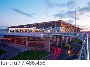 Купить «Санкт-Петербург. Аэропорт Пулково», эксклюзивное фото № 7486456, снято 24 мая 2015 г. (c) Литвяк Игорь / Фотобанк Лори