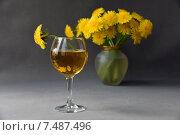 Вино из одуванчиков. Стоковое фото, фотограф Светлана Хромова / Фотобанк Лори