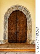 Купить «door in an ancient fortress», фото № 7499524, снято 18 ноября 2014 г. (c) BestPhotoStudio / Фотобанк Лори