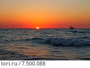 Кубинский закат (2013 год). Стоковое фото, фотограф Оксана Дудкина / Фотобанк Лори