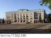 Купить «Здание Министерства сельского хозяйства в городе Уфе», фото № 7502188, снято 30 мая 2015 г. (c) Коротнев / Фотобанк Лори
