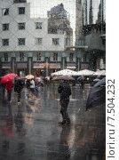 Непогода. Дождь в Вене. (2015 год). Стоковое фото, фотограф Валерий Апальков / Фотобанк Лори