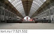 Купить «Киевский вокзал в Москве», фото № 7521532, снято 14 мая 2015 г. (c) Владимир Журавлев / Фотобанк Лори