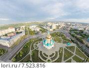 Омск. Соборная площадь (2015 год). Стоковое фото, фотограф Рамиль Бакиров / Фотобанк Лори