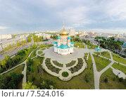 Омск Успенский собор (2015 год). Стоковое фото, фотограф Рамиль Бакиров / Фотобанк Лори