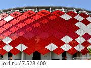 Купить «Новый стадион «Открытие Арена» в Москве (фрагмент)», фото № 7528400, снято 25 февраля 2015 г. (c) Валерия Попова / Фотобанк Лори