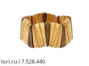 Деревянный браслет. Стоковое фото, фотограф Оксана Дорохина / Фотобанк Лори