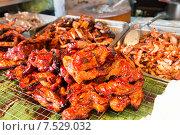 Купить «meat grill at street market», фото № 7529032, снято 7 февраля 2015 г. (c) Syda Productions / Фотобанк Лори